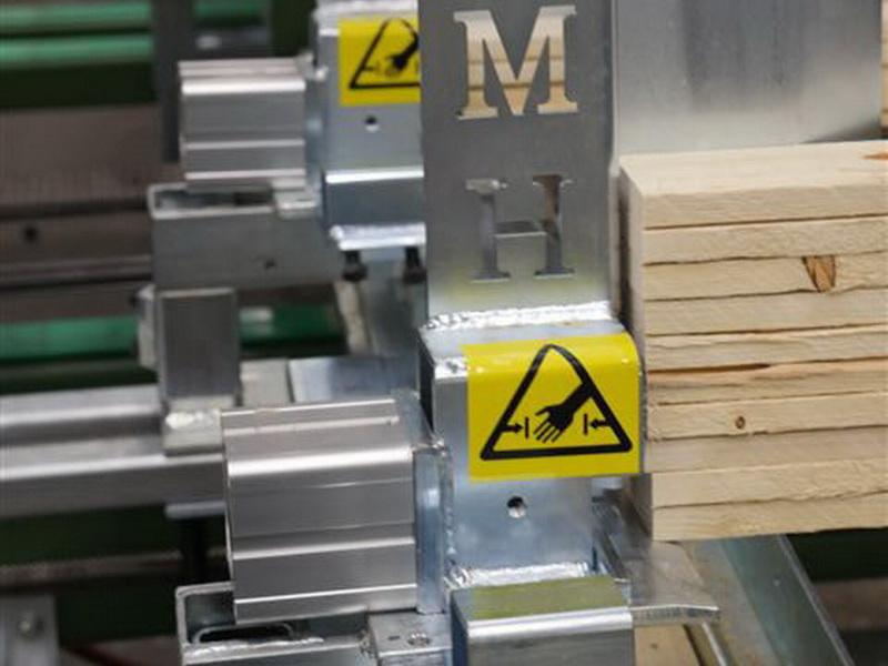 Abwurfmechanismus Deckbretter