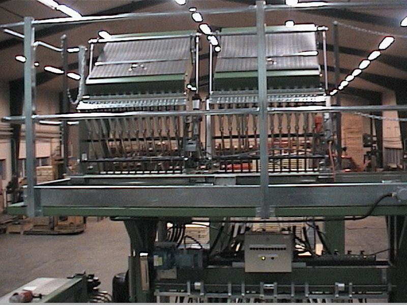 Doppel-Nagelbox Deckmaschine