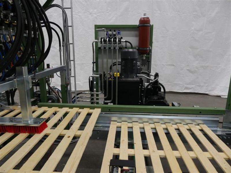 Hydraulikaggregat Deckmaschine
