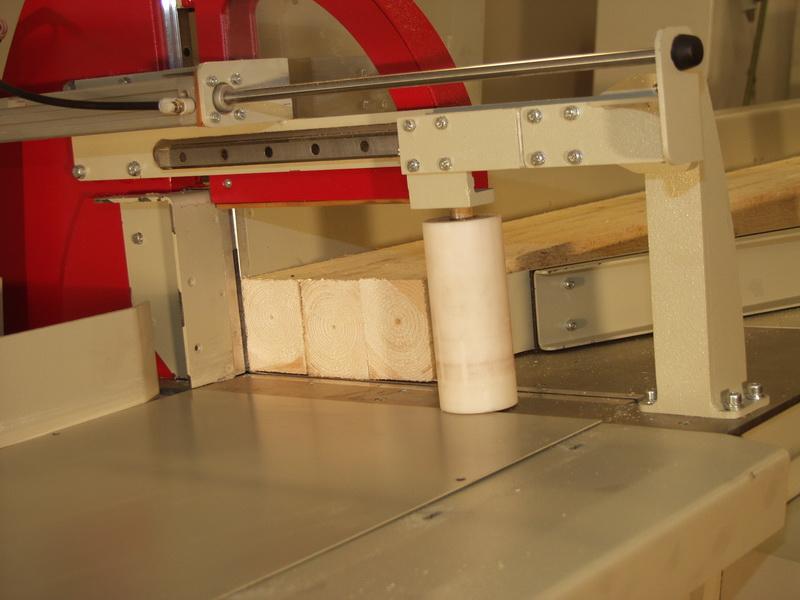 Mehrfachanpressung des Materials