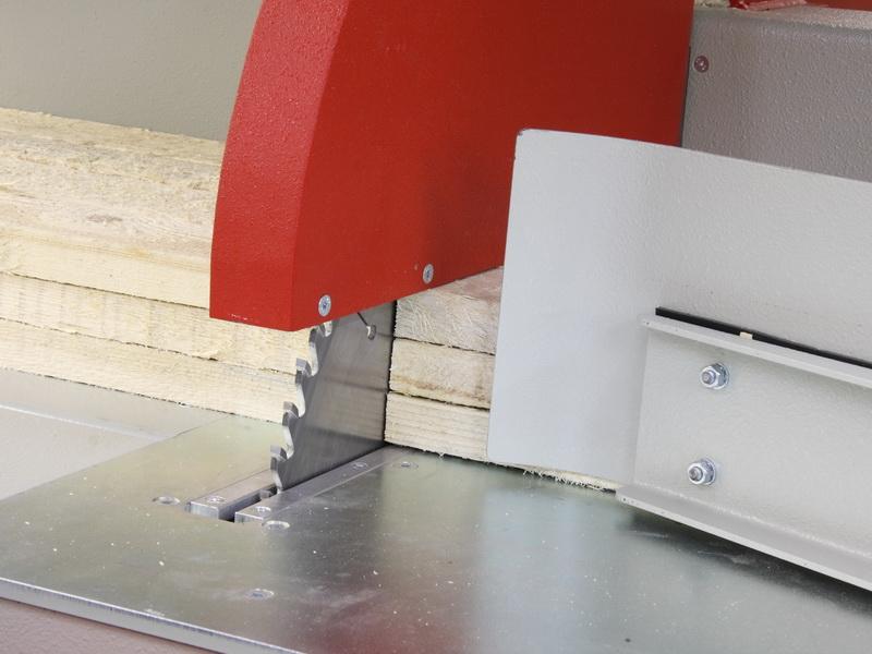 Obere und seitliche Zentrierung des Materials