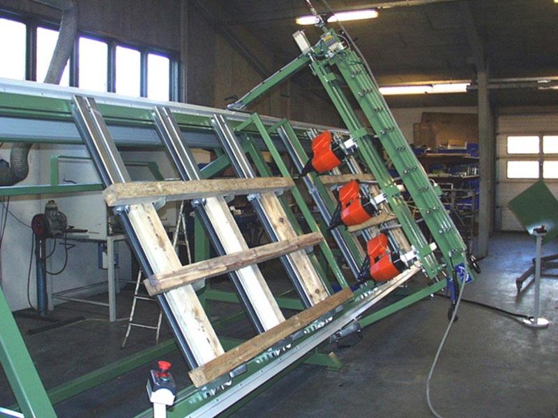 PALTEC 1000 - Herstellung von Kantholzpaletten