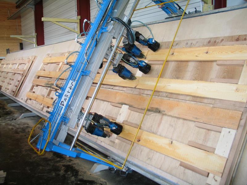 PALTEC 2000 mit 2x 6m-Arbeitsbereich