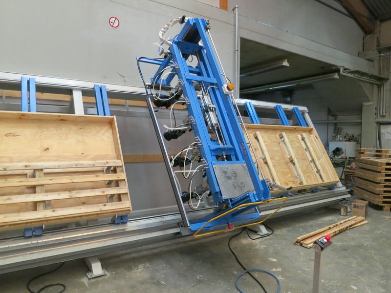 Schnellwechsel-Fixturen aus Holz