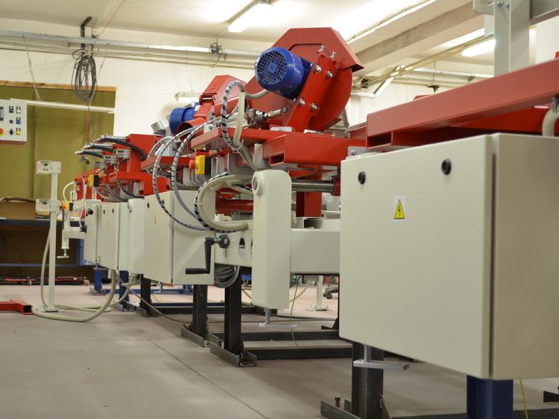Stabiler Aufbau der Bearbeitungsaggregate, Schnellverstellung
