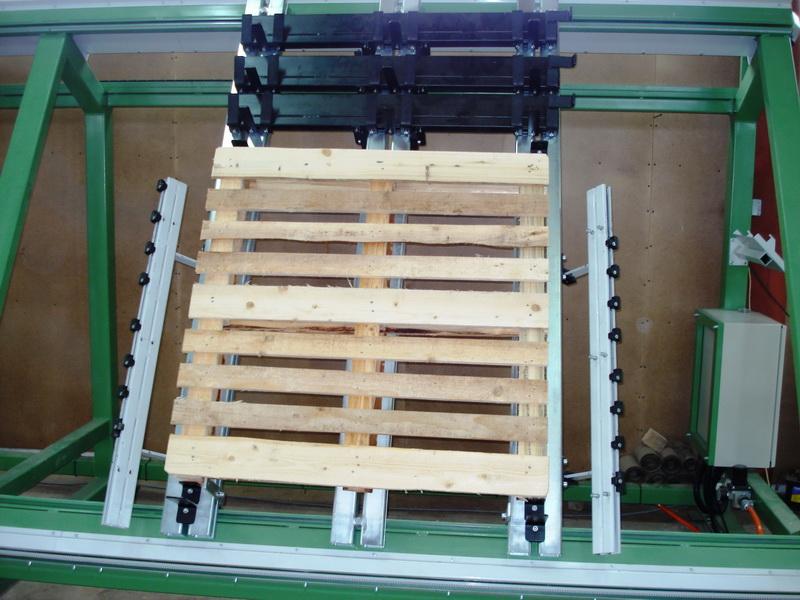 Wegklappbare Fixtur für Deckbretter